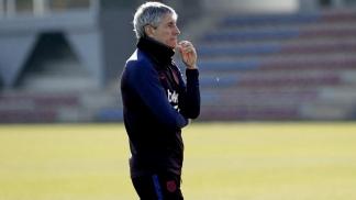 Setién apenas estuvo 7 meses como entrenador del Barça.