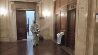 Una empleada del Senado tuvo resultado positivo en su test de coronavirus