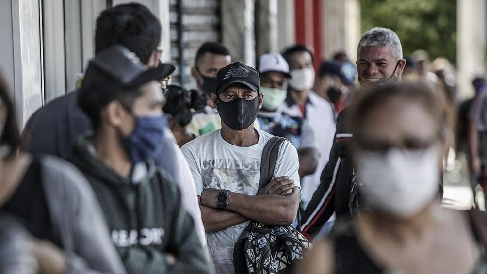 Brasil es el segundo país en número de contagios y fallecimientos por el coronavirus en el mundo.