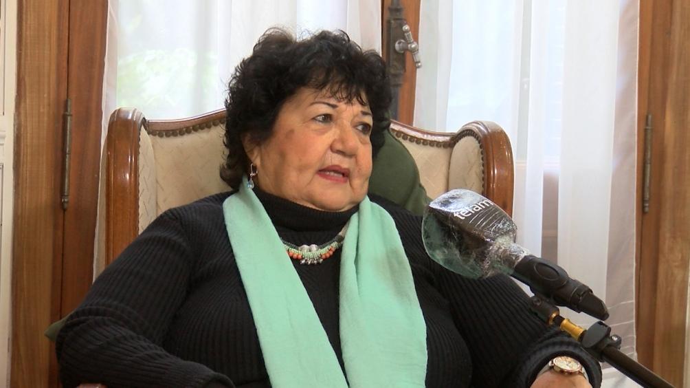 Dora Barrancos asesora presidencial y miembro de la Comisión Provincial por la Memoria