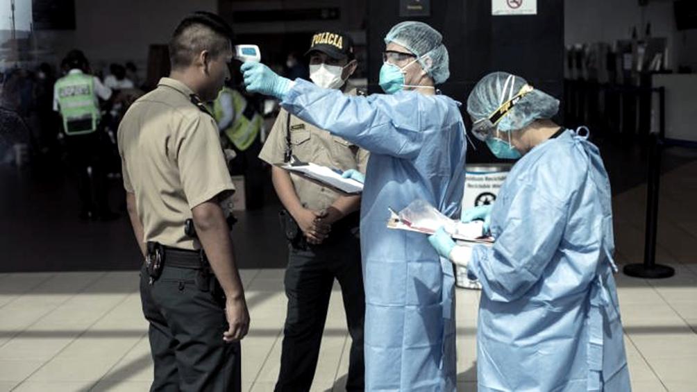 Perú es el cuarto país de Sudamérica con más contagios de coronavirus