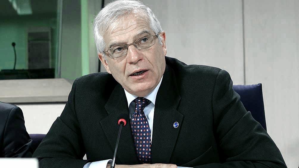 Borrel dijo que se podrían aplicar sanciones y Rusia expresó su sopresa