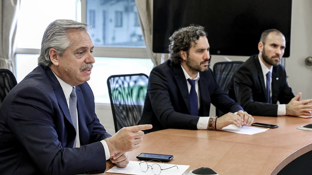 El encuentro será encabezado por Santiago Cafiero y  Martín Guzmán.
