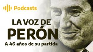 La voz de Perón, a 46 años de su partida