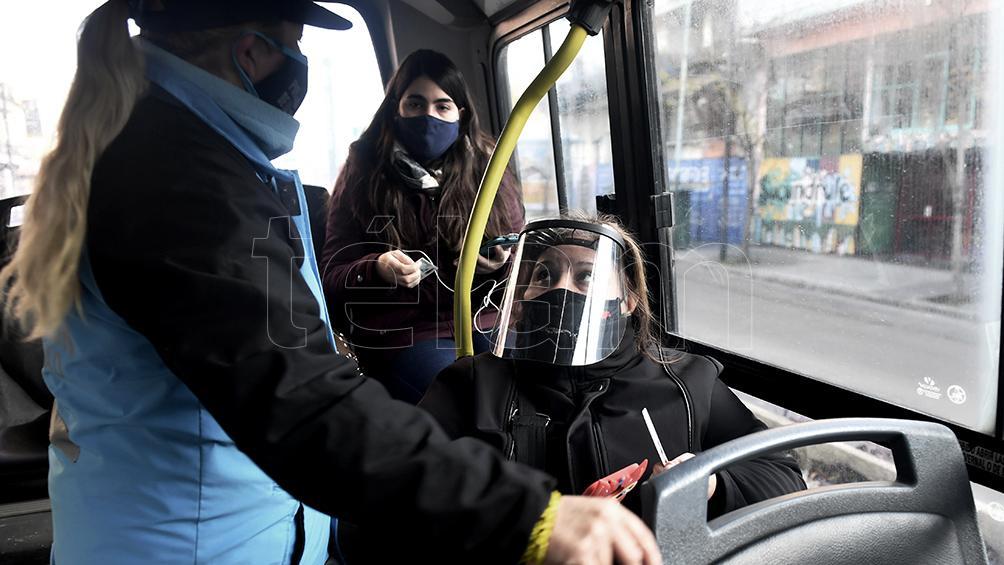 Cómo es el operativo en el transporte por el inicio del clases