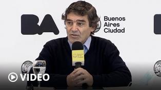 Quirós dijo que propondrán desandar las restricciones si bajan los contagios