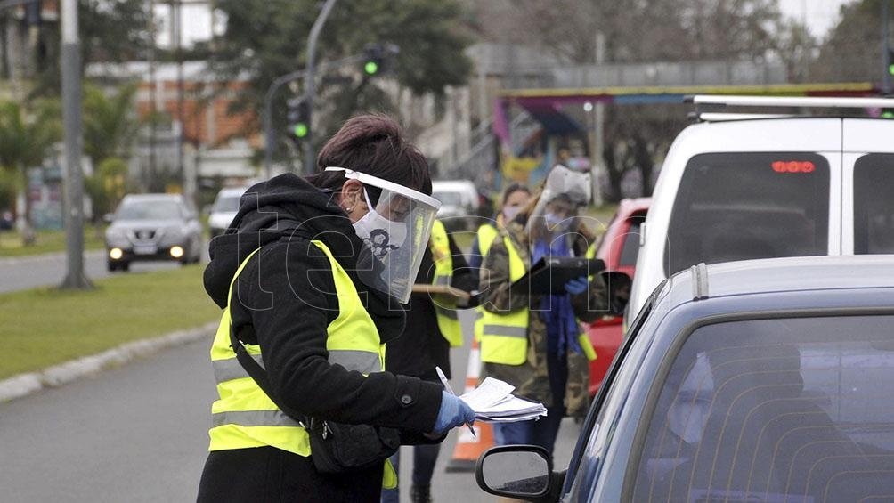Casos positivos en provincia de Buenos Aires