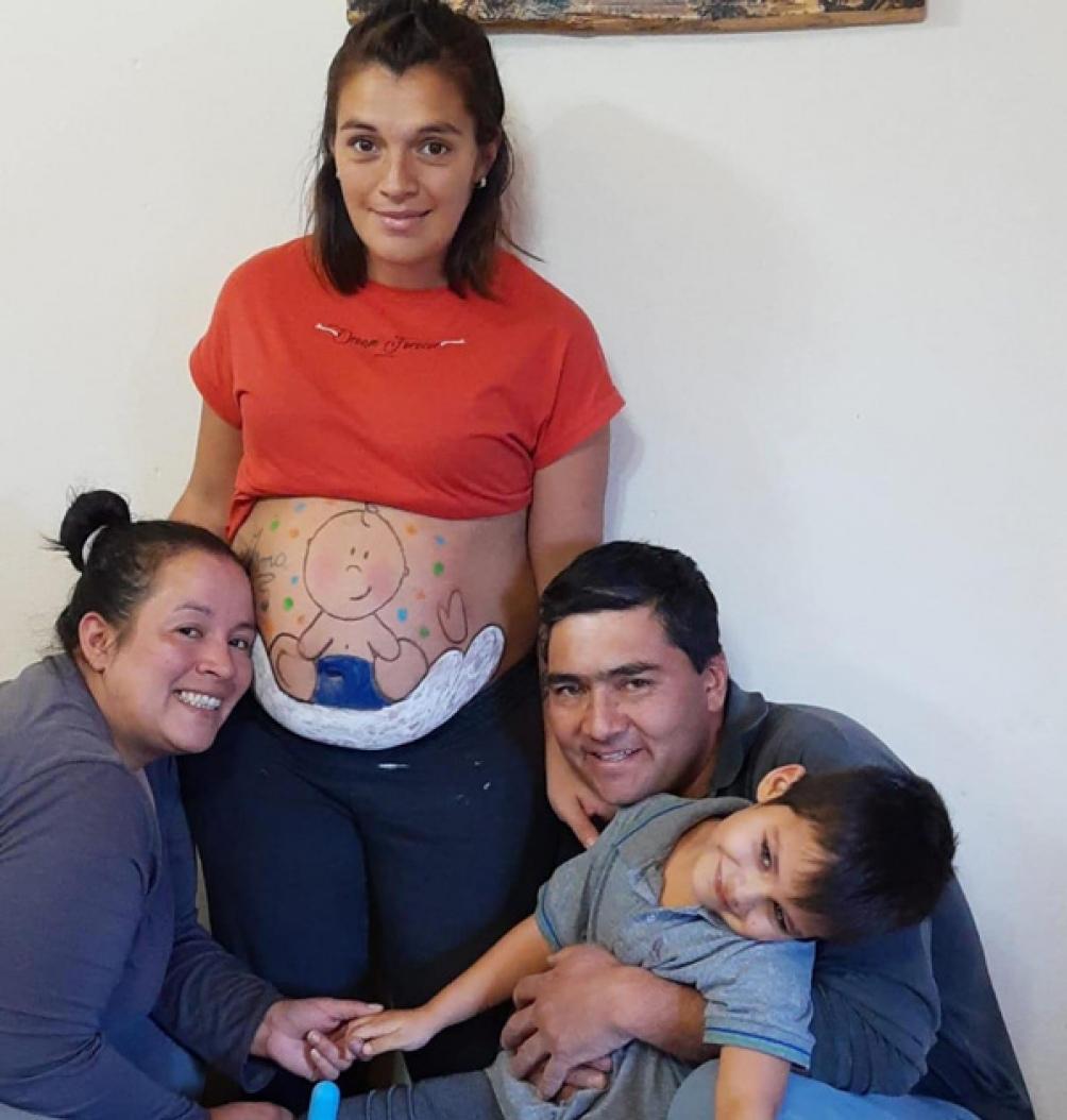 Marité ofreció su vientre para que su hermana Tamara y su cuñado Juan Carlos pudieran ser padres.