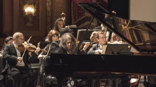 Se podrá revivir online el histórico concierto de la Filarmónica israelí con Martha Argerich