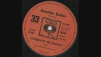 """El simple salió a fines de 1969. En el lado A, """"Balada para un loco"""""""
