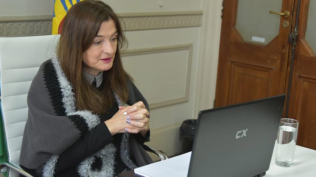 La ministra Estela Díaz repudió la publicidad de HSBC