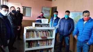 Inauguraron un pabellón literario en una cárcel bonaerense