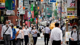 Alarma en Japón ante aumento de contagios y muertos por coronavirus