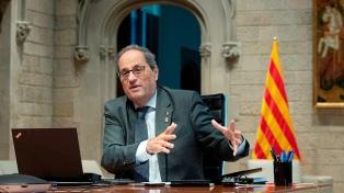 El líder independentista catalán presenta un recurso de amparo contra su inhabilitación
