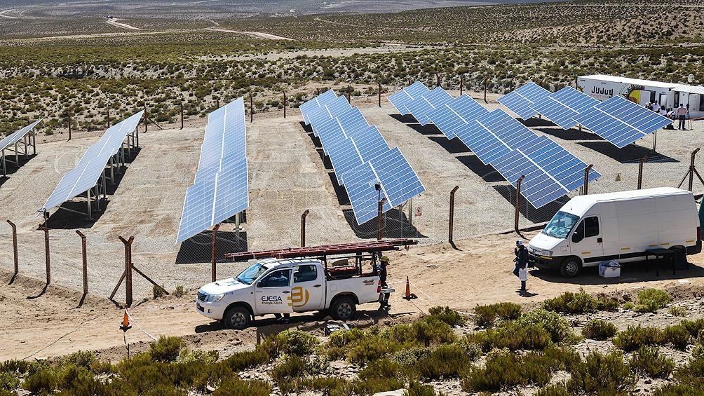 El punto de partida de los proyectos es el parque solar Cauchari, un desarrollo de 300 Mw.