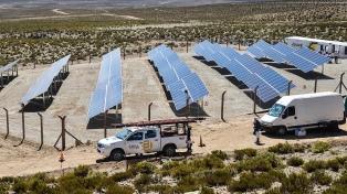 El parque solar Cauchari se prepara para inyectar energía limpia al sistema mayorista