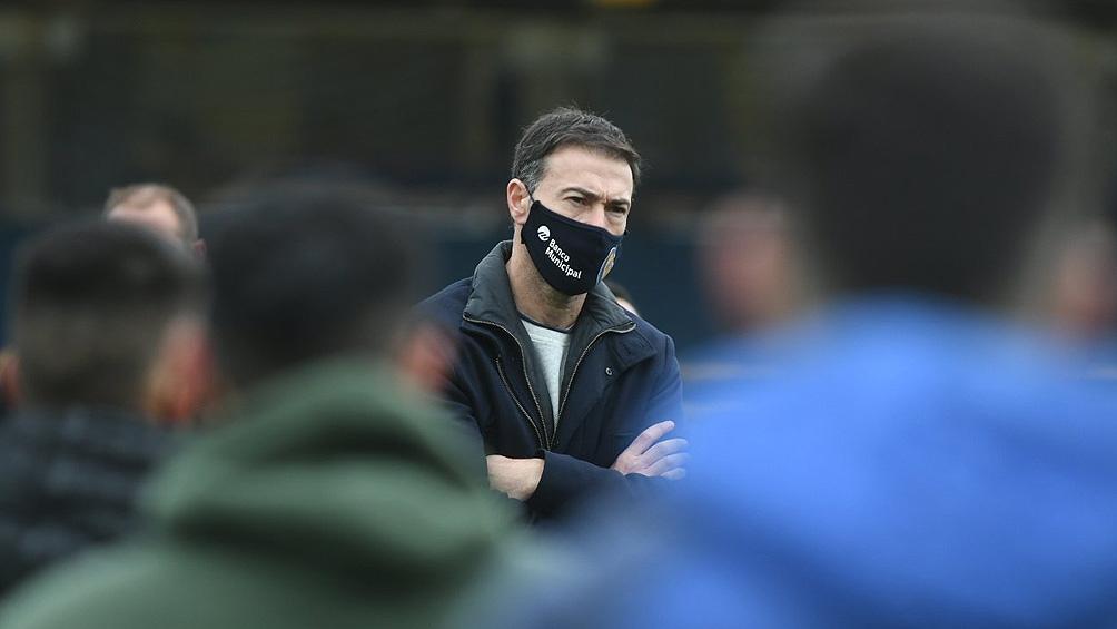 """González, flamante DT del """"Canalla"""", ysueña en algún momento con la llegada de Di María al equipo"""