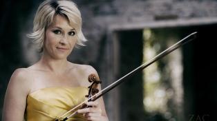 "El romance de la violinista Édua Zadory: ""Argentina me gustó desde el primer segundo"""