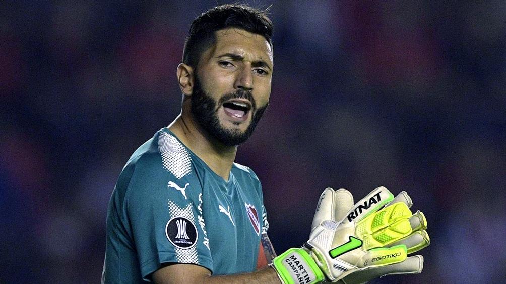 martín Campaña regresa a Independiente tras su frustrado pase a México