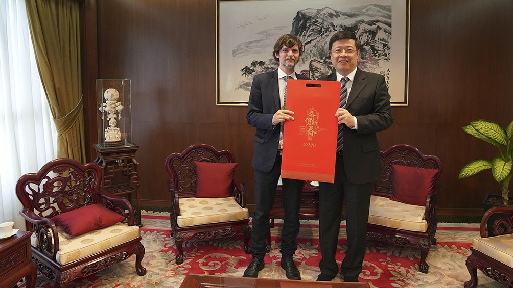 """""""El avance de China no sólo se da en nuestra región, es un fenómeno global"""", dijo el embajador."""