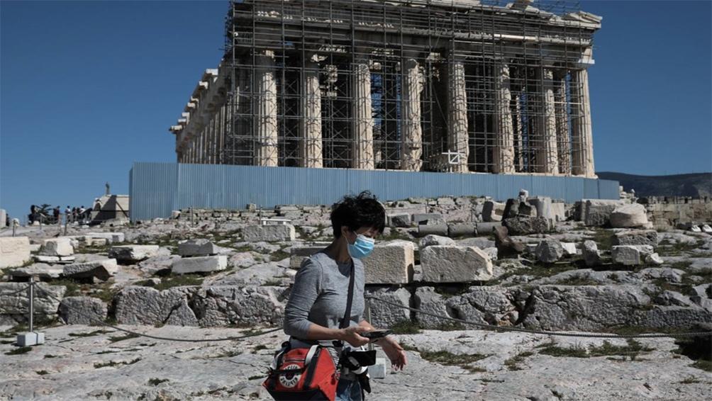 Grecia contabiliza 275.000 casos y 8.380 muertos a causa del coronavirus