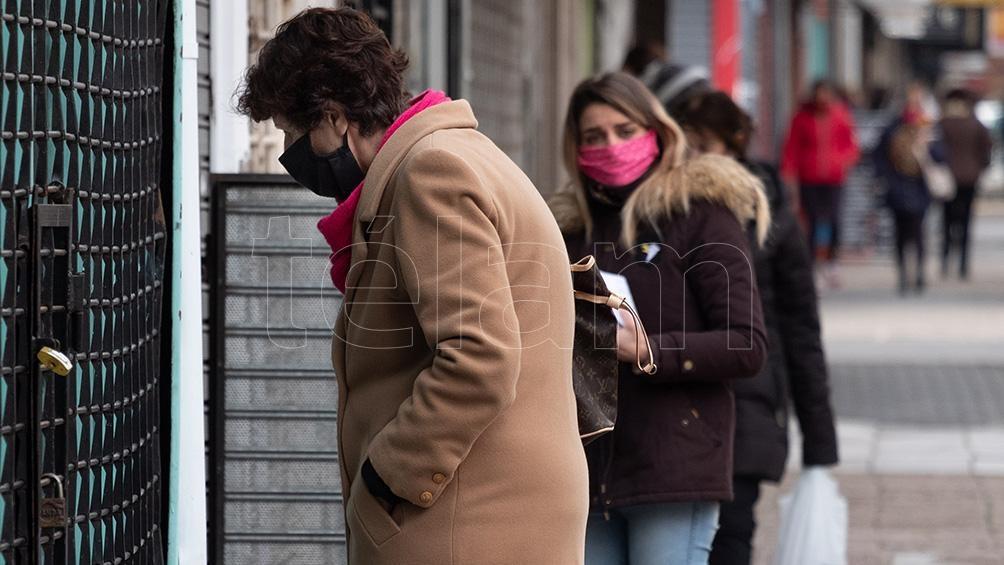 Alto apoyo a la cuarentena por la pandemia, según un informe
