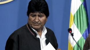 """Morales denunció que en Bolivia se está organizando """"un golpe dentro del golpe"""""""