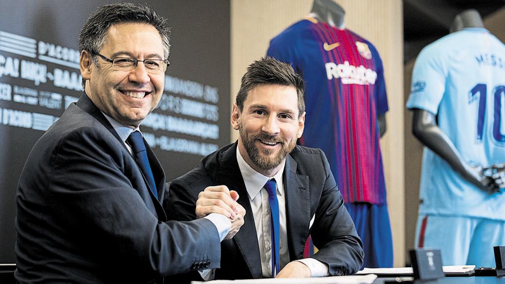 El presidente del Barcelona dejaría su cargo si Messi se queda