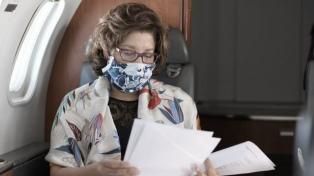 Otro ministro contagiado de coronavirus y la gobernadora permanecerá aislada
