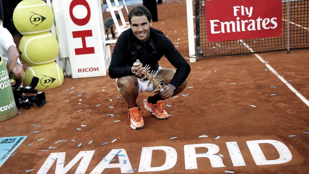 El Masters 1000 de Madrid en vilo por el avance de los casos de coronavirus (foto archivo)