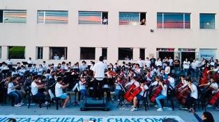 """La invitación de Ringo Starr llena de """"orgullo y esperanza"""" a la Orquesta Escuela de Chascomús"""