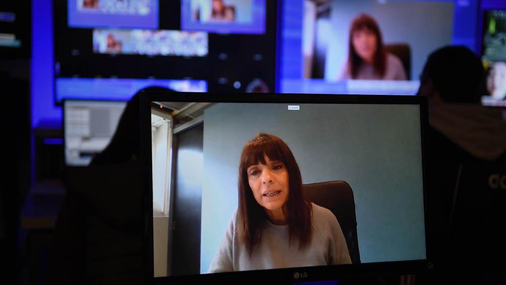 Rosario Lufrano, titular de la Televisión Pública.