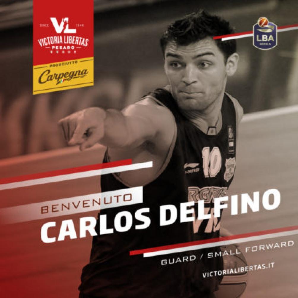 Delfino, confirmado por el Pesaro como nuevo jugador