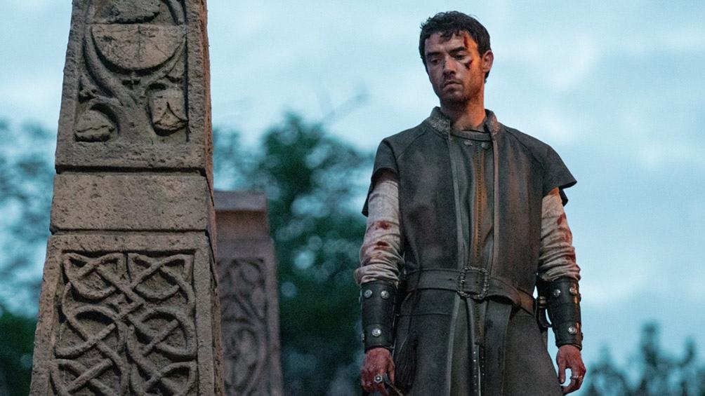 """Alexander Dreymon en """"El último reino"""""""