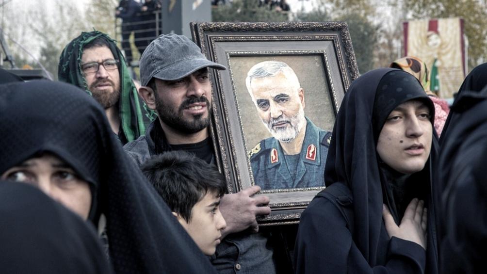 Los funcionarios estadounidenses son acusados de la muerte durante un ataque aéreo de Qasem Soleimani.