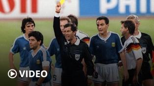A 30 años de la final de Italia '90, el penal de Codesal y una noche que no fue mágica