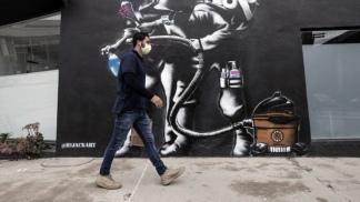 En Los Angeles (California), el virus volvió a tomar impulso