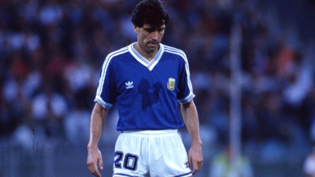 Simón jugó los siete partidos de Argentina en la Copa celebrada en Italia