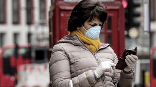 El Reino Unido registró más de 1.000 contagios de coronavirus por cuarto día consecutivo