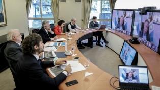 Gobernadores respaldaron la negociación por la deuda y agradecieron continuidad del IFE