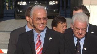 """Beckenbauer: """"Nunca tuve ni una pizca de temor a que no lográramos el título"""""""
