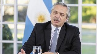 El Presidente inició desde Olivos una videoconferencia con los gobernadores
