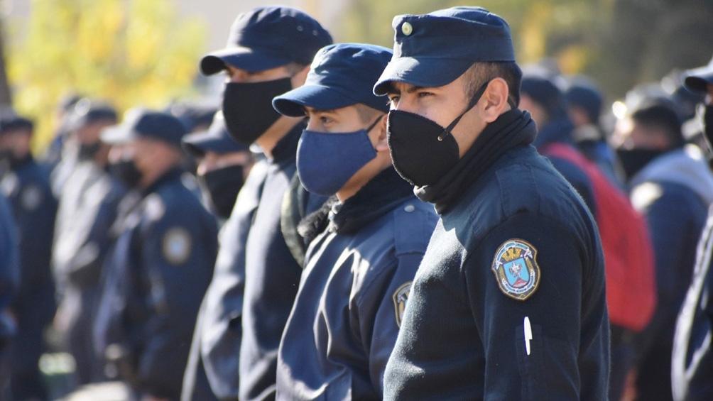 Los efectivos están destinados a 64 puntos estratégicos de control.