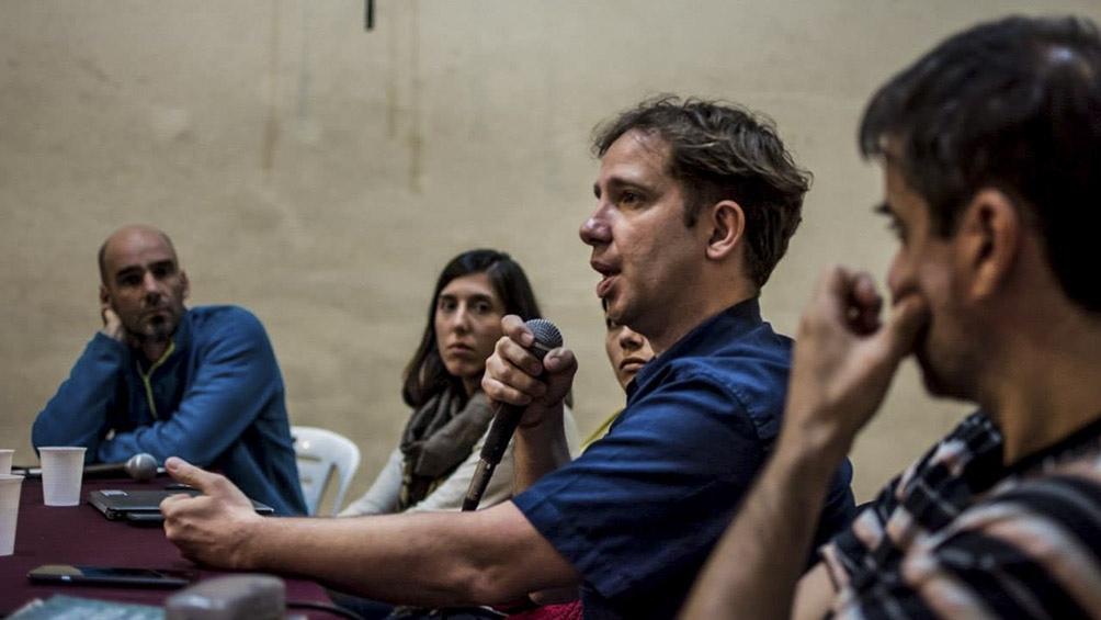 Esteban Ierardo, Natalia Aragüete y Juan Ottaviano