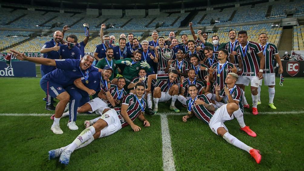 Fluminense se consagró anoche campeón de la Copa Río al vencer en la final a Flamengo por 3-2 en los penales