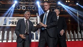 El periodista Carlos Pagni obtuvo el premio Konex de Platino 2017 en la categoría Análisis Político