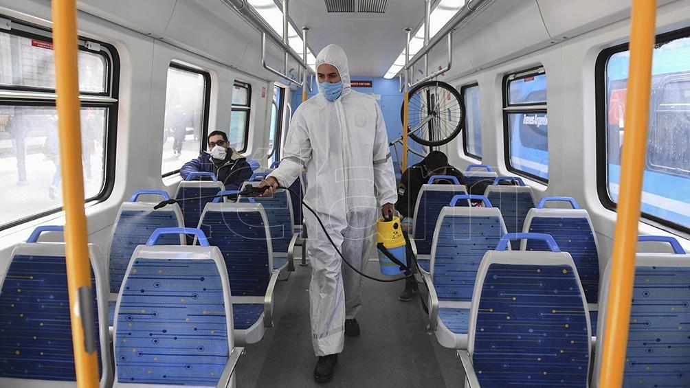 El aumento de cantidad de pasajeros se hará respetando el distanciamiento social