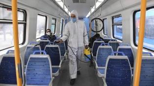 El transporte público sigue siendo exclusivo para esenciales