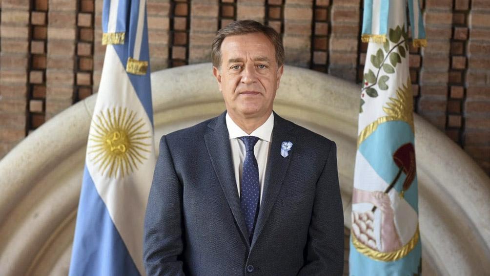 El mandatario mendocino Rodolfo Suarez.