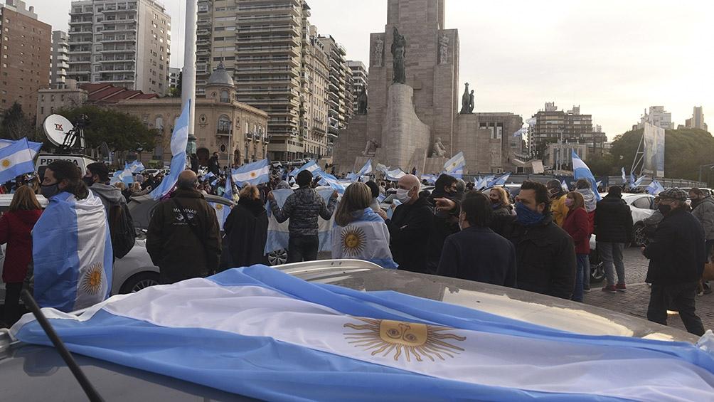 Protesta en Rosario